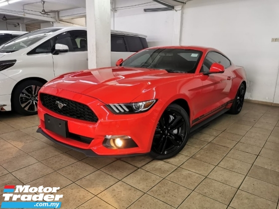 2017 FORD MUSTANG Unreg 2.3 (A) Ecoboost *310hp *6 Speeds