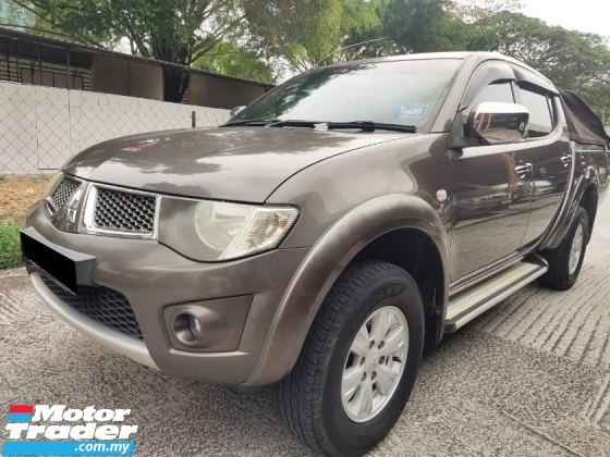 2010 MITSUBISHI TRITON 2.5 AT  1 INDIVIDUAL OWNER EXCELLENT CONDITION