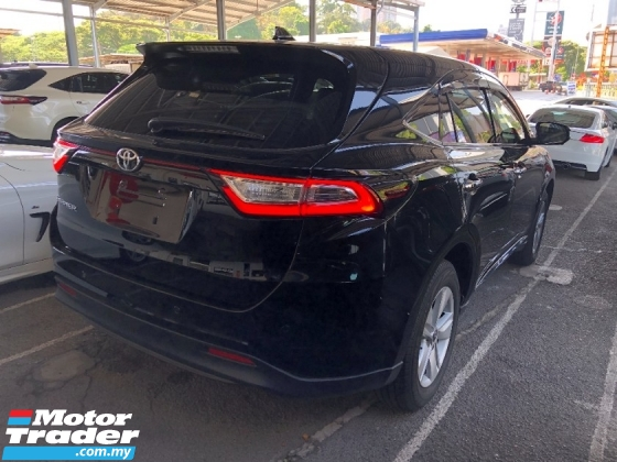 2018 TOYOTA HARRIER 2.0 New Facelift 360 Surround Camera Automatic Power Boot Pre-Crash Lane Keep Assist Full LED Unreg