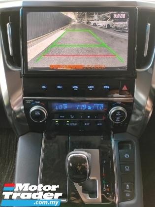 2017 TOYOTA VELLFIRE 2.5 ZG Pilot Seat 2 Power Door Power Boot Unregister
