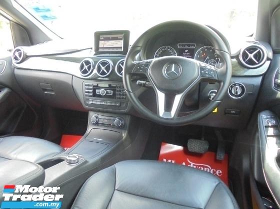 2012 MERCEDES-BENZ B-CLASS B200 1.6 Sport Tourer Hatchback W246 ReverseCamera LikeNEW