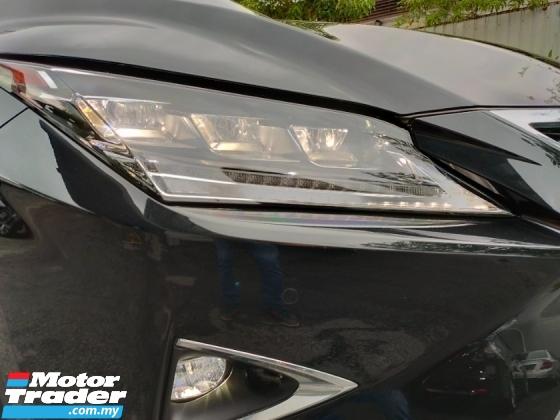 2018 LEXUS RX 300T F Sport Panaromic Roof 4 Cam Red Leather BSM HUD PCS LKA Power Boot 29K KM Unregister