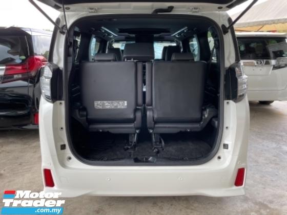 2017 TOYOTA VELLFIRE Unreg Toyota Vellfire ZA Golden Eye 7Seather 360View Sun Roof Power Boot Push Start 7Speed