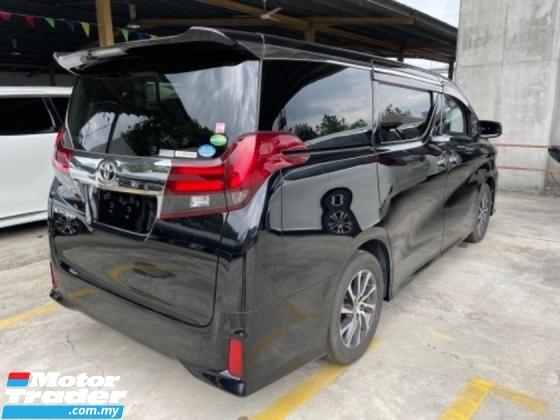 2017 TOYOTA ALPHARD Unreg Toyota Alphard S 2.5 8Seather 360View Power Boot Push Start Engine 7Speed