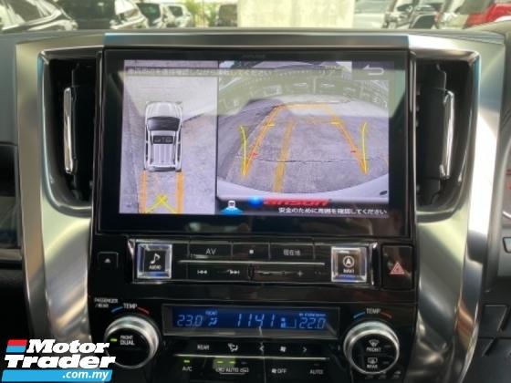 2018 TOYOTA ALPHARD Unreg Toyota Alphard SC 2.5 7Seather 360View Sun Roof 3LED Light Alpine Radio Push Start Engine 7G