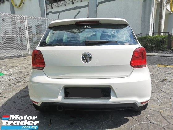 2012 VOLKSWAGEN POLO 1.4 GTi COUPE (A) VW F/SERVICE