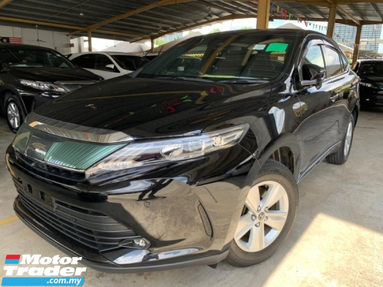 2018 TOYOTA HARRIER 2.0 Grade 4.5 5Yrs Warranty Android 4cam Powerboot