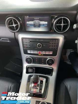 2018 MERCEDES-BENZ SLC Unreg Mercedes Benz AMG SLC200 2.0 Turbo Convertible Top Paddle Shift 9Speed