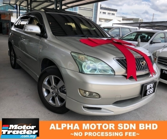 2005 TOYOTA HARRIER 3.0 (A) PREMIUM SPEC POWER BOOT NO PROCESSING FEE