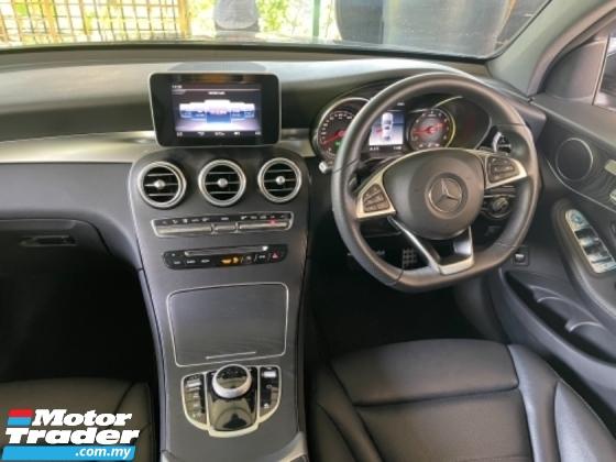 2019 MERCEDES-BENZ GLC 250 Unreg Mercedes Benz AMG Sport GLC250 2.0 Turbo Camera Panaromic Roof Power Boot Paddle Shift 9Speed