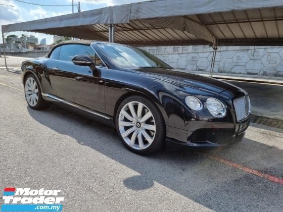 2012 BENTLEY CONTINENTAL GT CABRIOLET 6.0 UK SPEC (A) REGISTER 2013