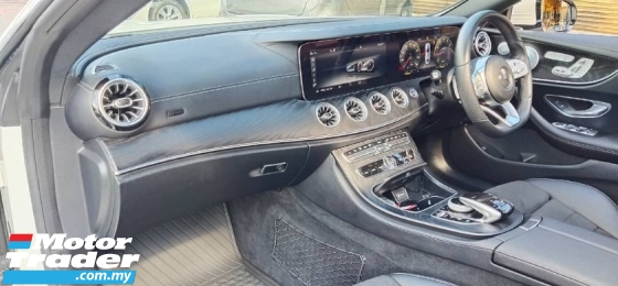 2019 MERCEDES-BENZ E-CLASS Unreg Mercedes Benz AMG Sport E300 Coupe 2.0 Turbo Panaromic Roof Power Boot Paddle Shift 9Speed
