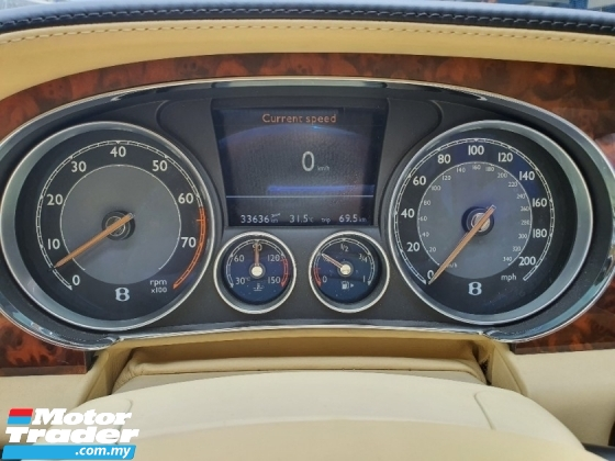 2012 BENTLEY CONTINENTAL GTC Convertible W12 567HP *1 VVip Owner