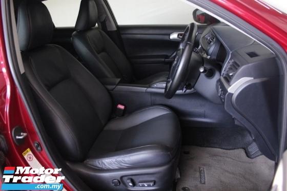 2012 LEXUS CT200H ORI 2012 Lexus CT200 1.8 h LUXURY (HYBRID) (A)